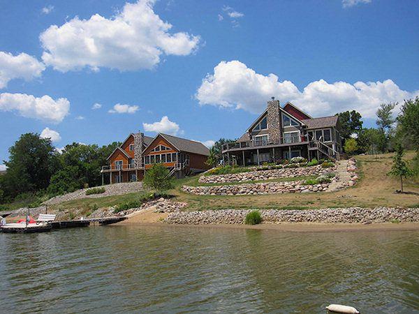 Iowa acreages for sale near sundown lake and rathbun lake for Lakefront houses